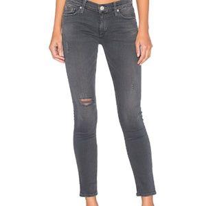 Hudson GRAY Krista Ankle Super Skinny Jeans - 32